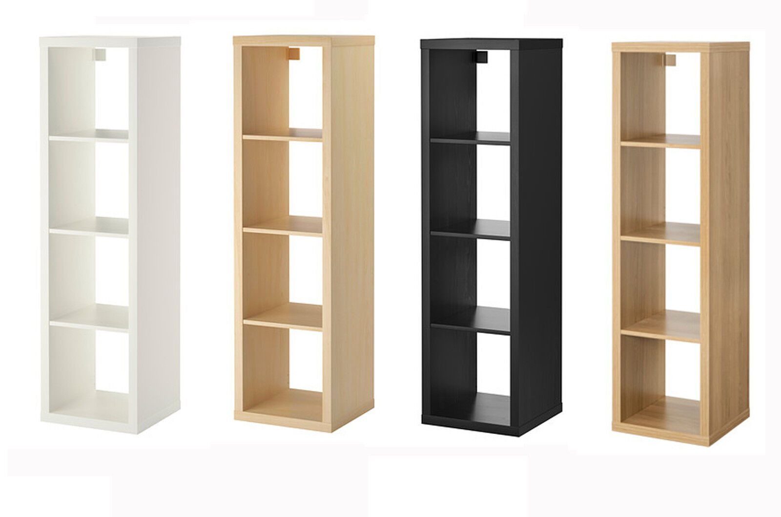 kallax cube storage bookcase shelf book case 4 rectangle rack shelving unit ikea bookcases. Black Bedroom Furniture Sets. Home Design Ideas