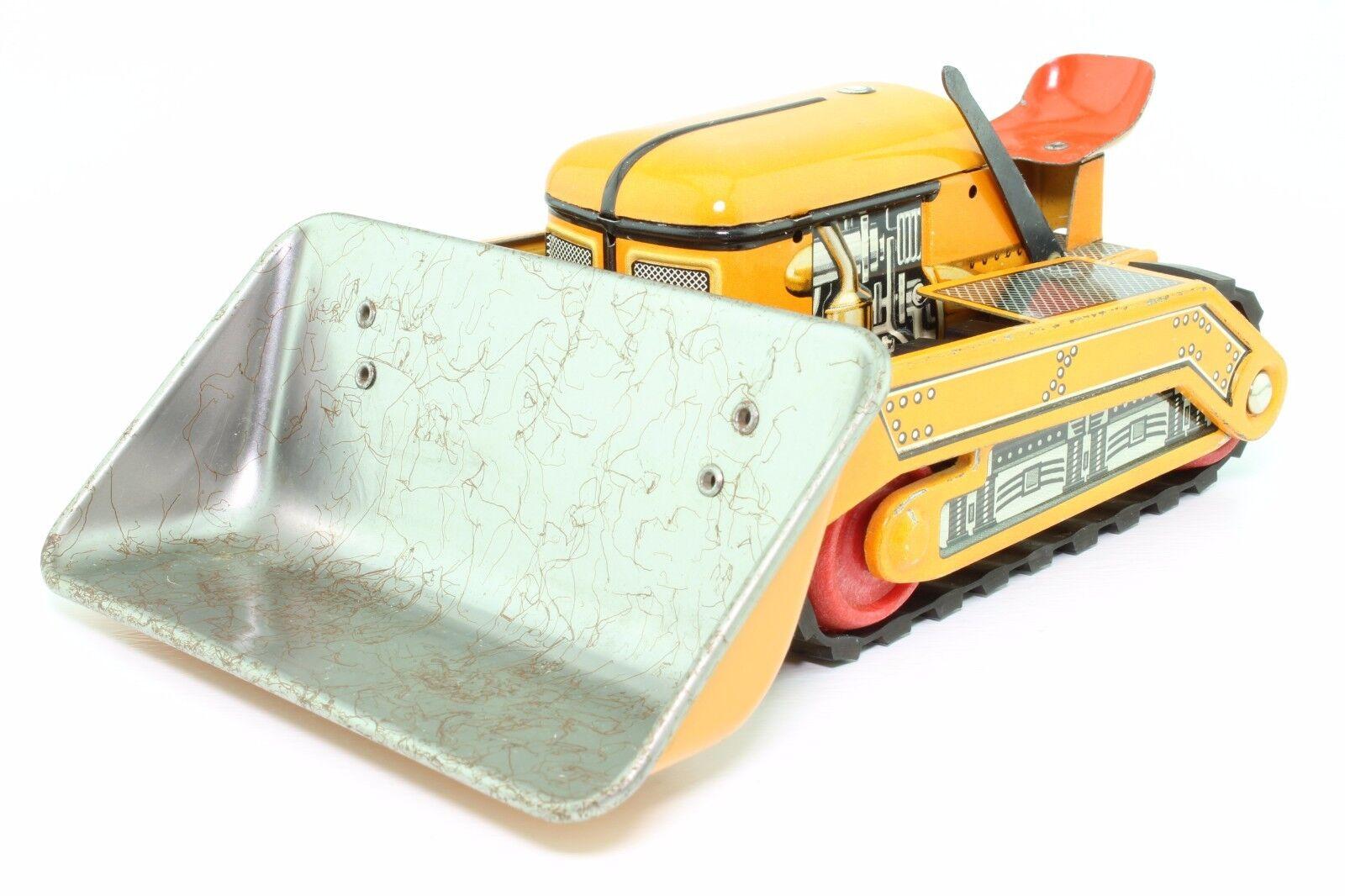 blechspielzeug tippco tco 65 planierraupe bulldozer tip top nutzfahrzeuge original. Black Bedroom Furniture Sets. Home Design Ideas