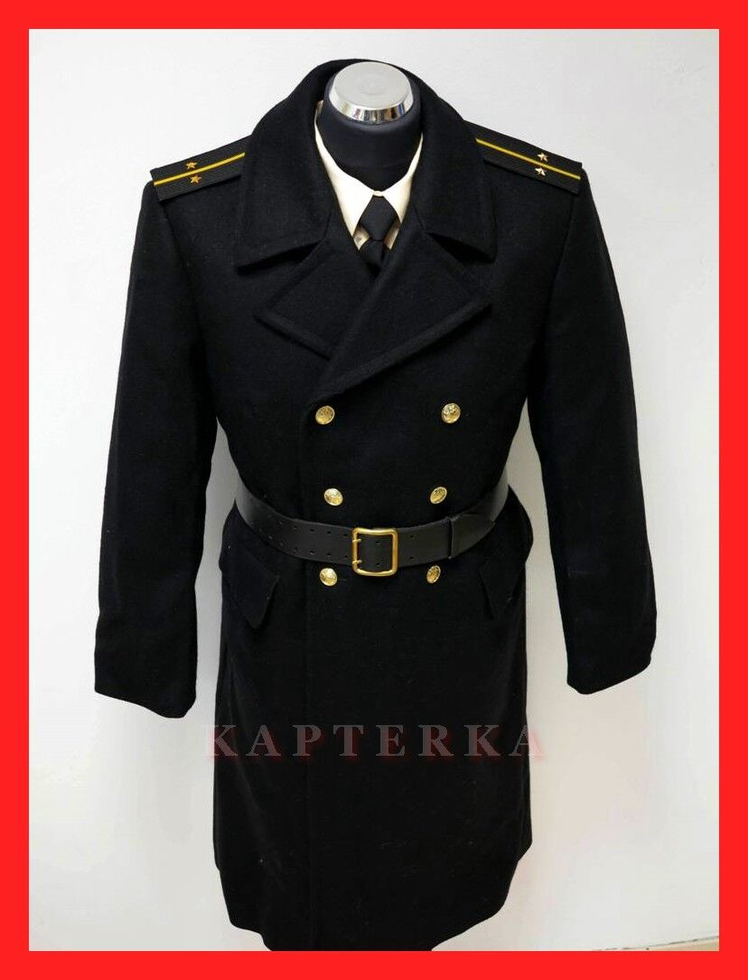 russische kriegsmarine offizier uniform wollmantel g rtel schulterst cke uniformen. Black Bedroom Furniture Sets. Home Design Ideas