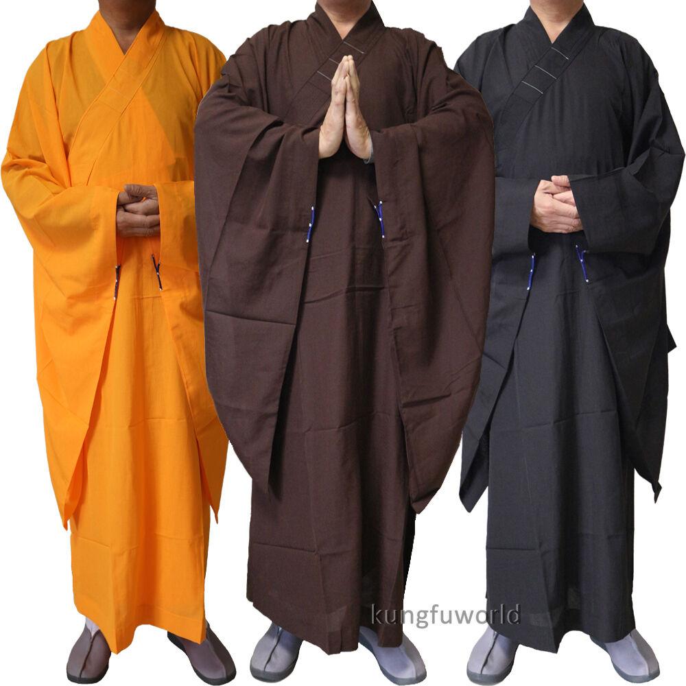 Top Quality Buddhist Monk Dress Haiqing Robe Shaolin Kung ...