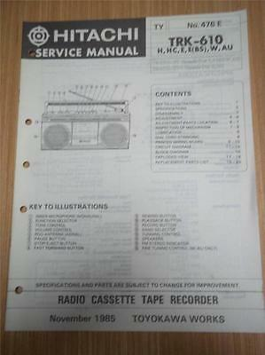 Hitachi video recorder manual