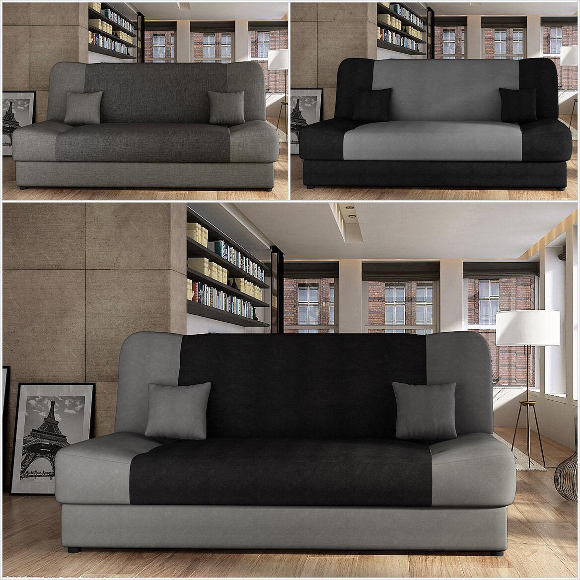 schlafsofa nella sofa couch schlafcouch wohnlundschaft mit. Black Bedroom Furniture Sets. Home Design Ideas