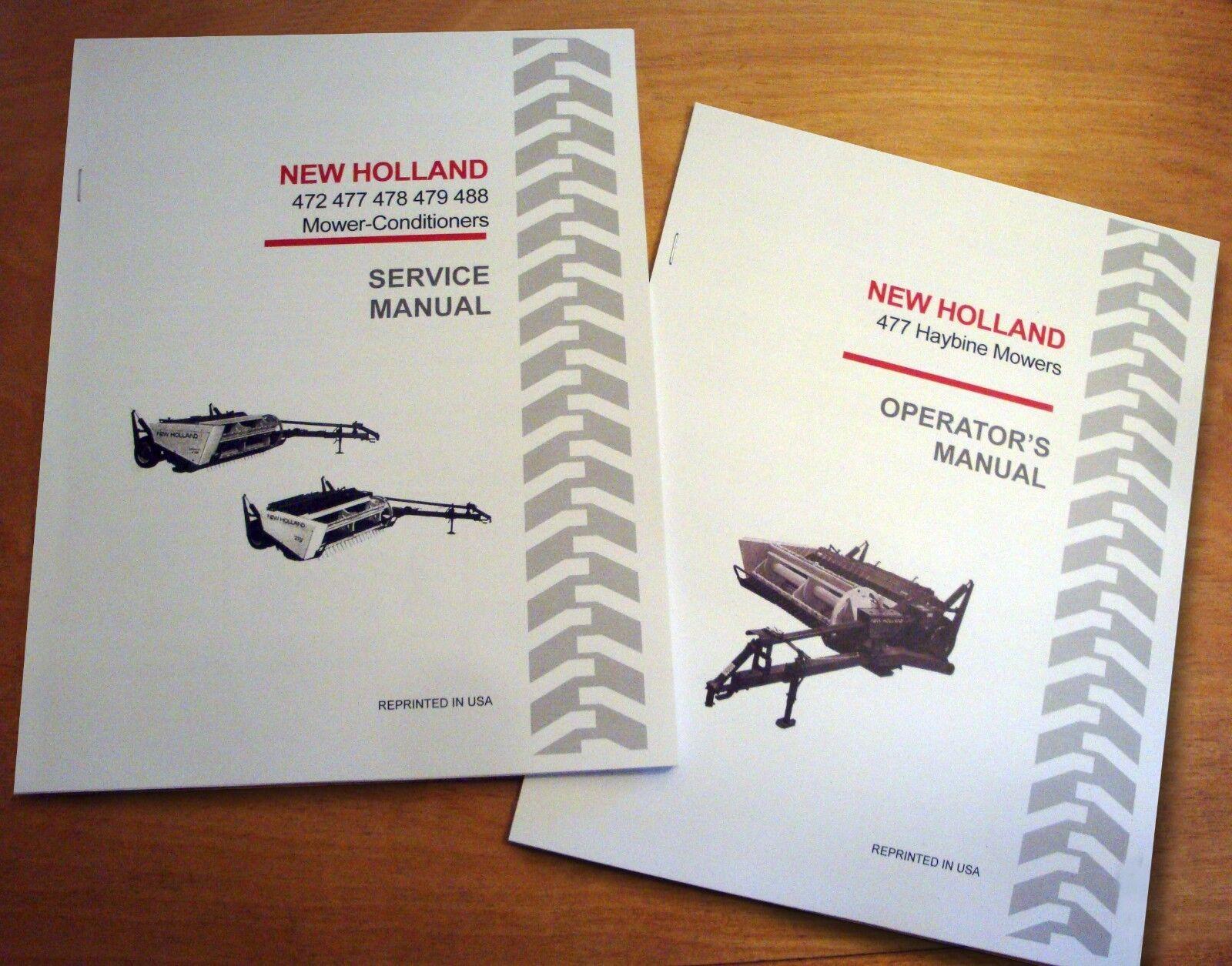 New holland 477 Service manual