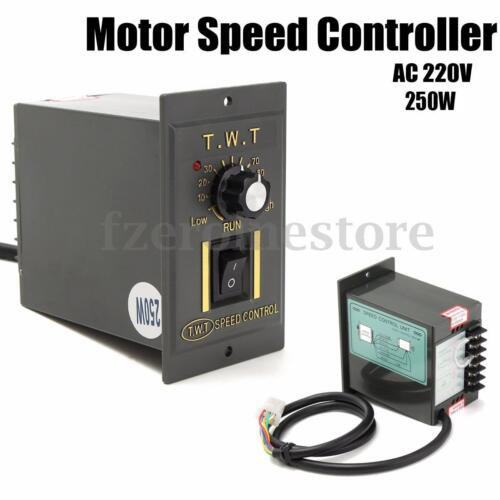 Ac 220v 250w electronic motor speed controller variable for Ac speed control motor