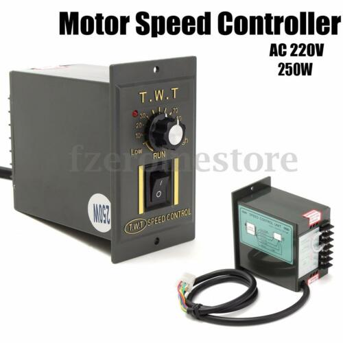 ac 220v 250w electronic motor speed controller variable