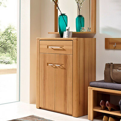 schuhschrank nature plus flurm bel garderobe schrank kernbuche teilmassiv schr nke. Black Bedroom Furniture Sets. Home Design Ideas