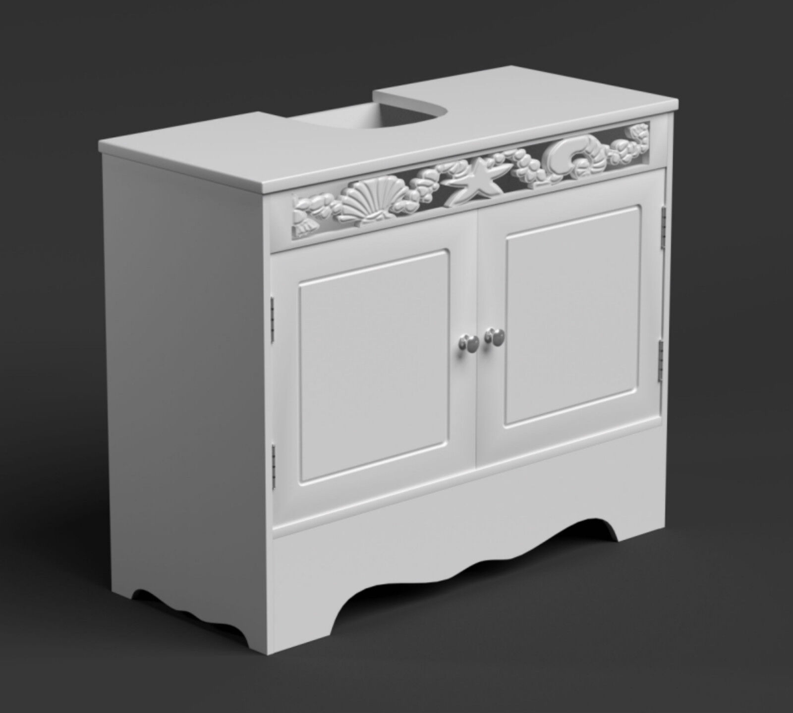 under counter storage cabinet sink basin cabinet bathroom storage unit white 27554