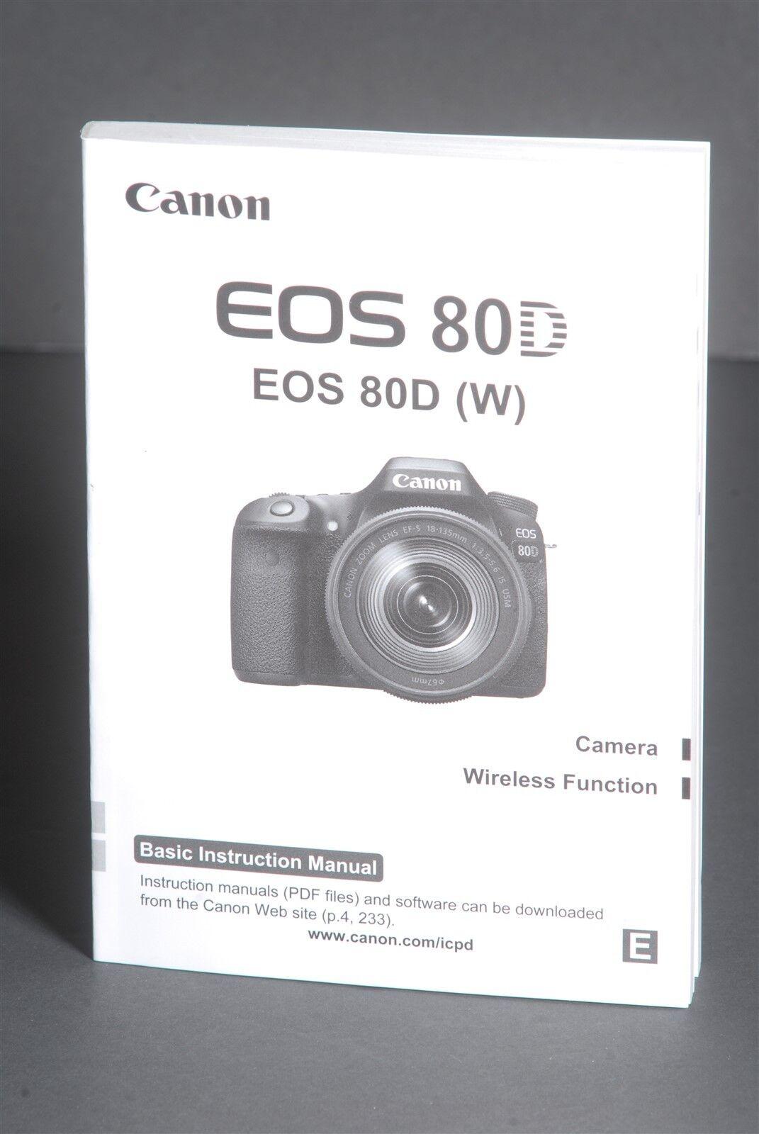 Canon eos user Manual