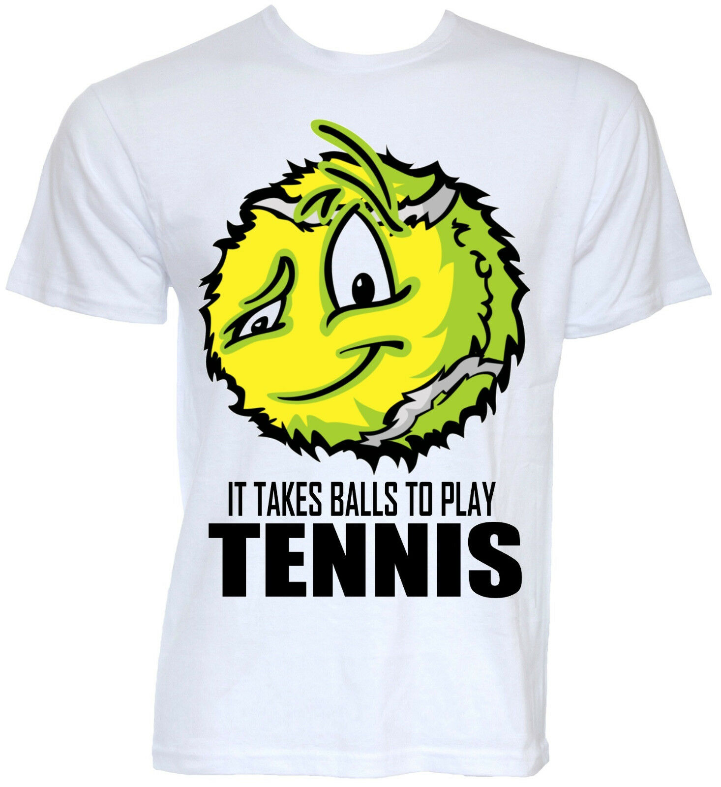 FUNNY TENNIS T-SHIRTS MENS COOL NOVELTY BALLS SLOGAN JOKE ...