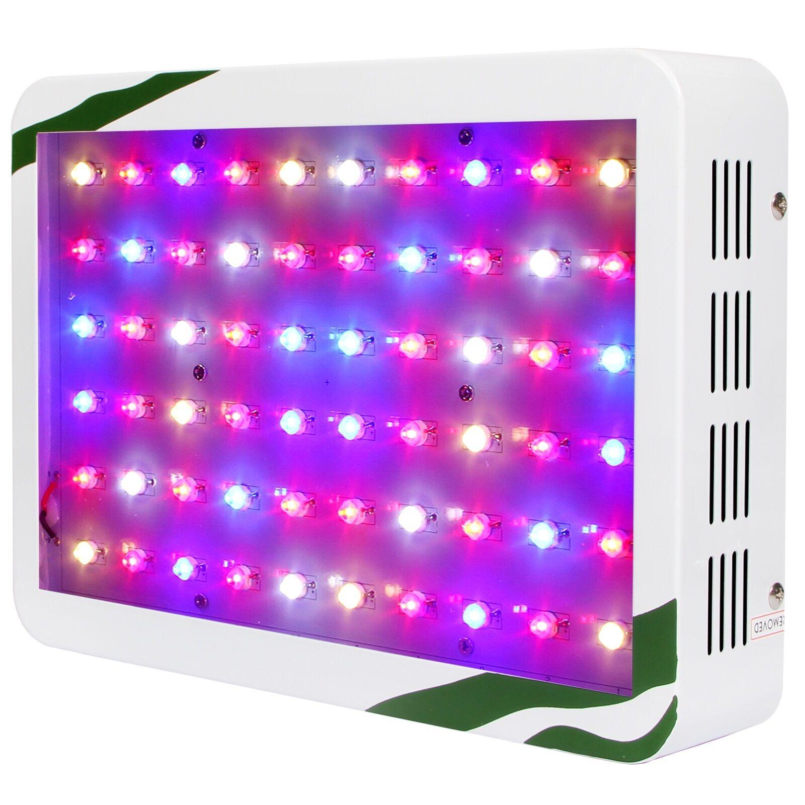 300w led grow light panel lampe pflanzen licht f r gem se for Hydrokultur zuhause