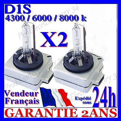 2 lampe feu ampoule xenon d1s 35w hid 85v bi bulbs 4300k 6000k 8000k universelle ampoules led. Black Bedroom Furniture Sets. Home Design Ideas