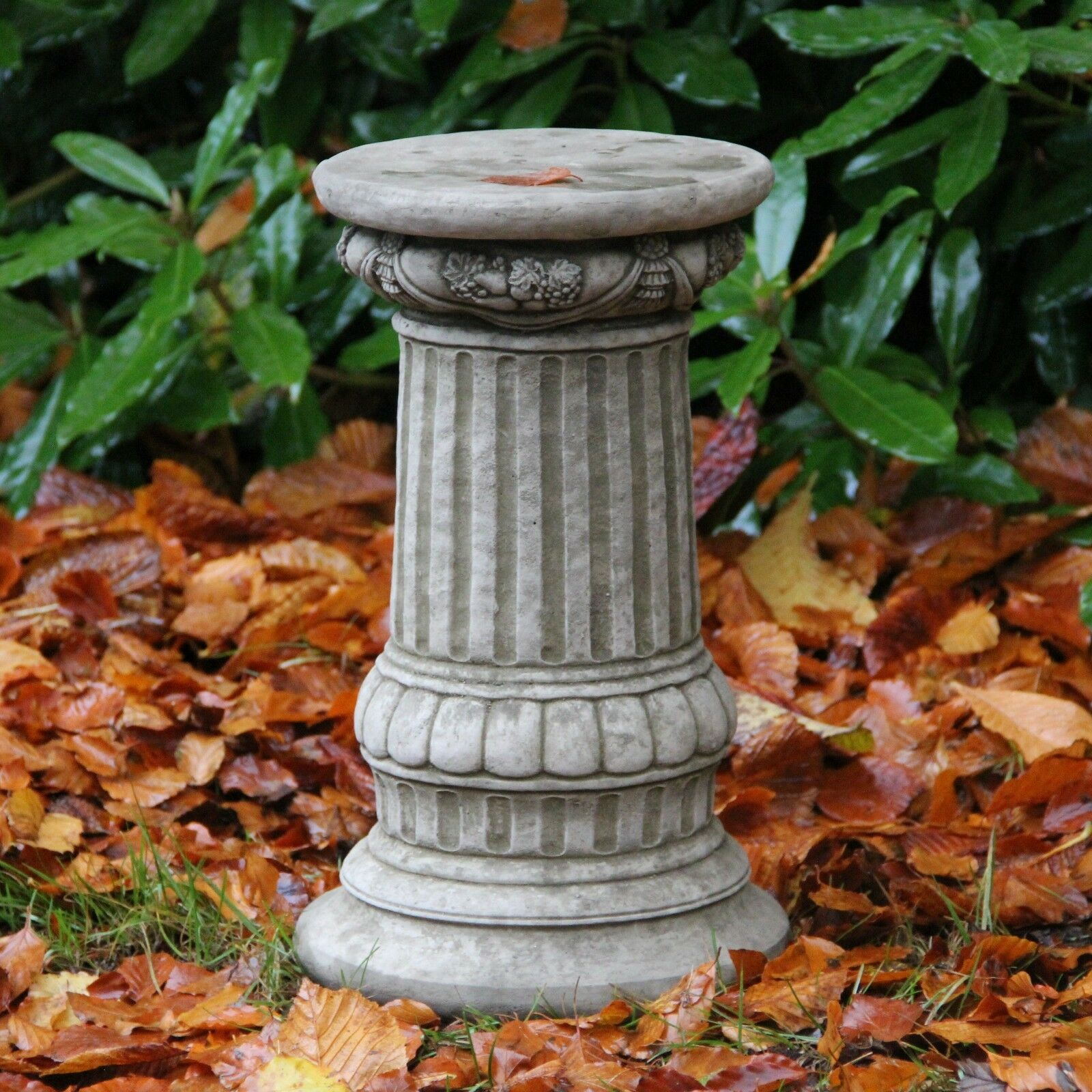 Fancy column plinth base handmade garden ornament for Game of thrones garden ornaments