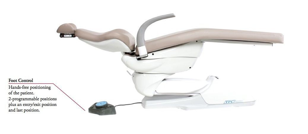 Tpc Dental Mirage Hydraulic Patient Chair Dental Chairs