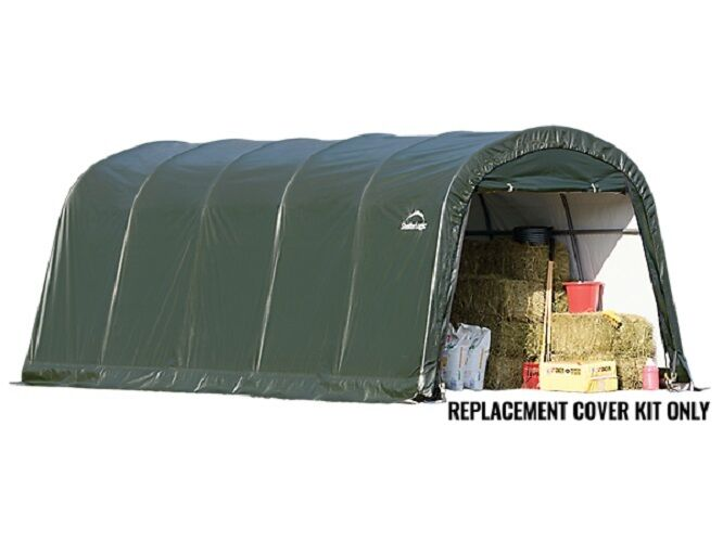 Shelterlogic Canopy Replacement Parts : Shelterlogic replacement cover round garage in a box