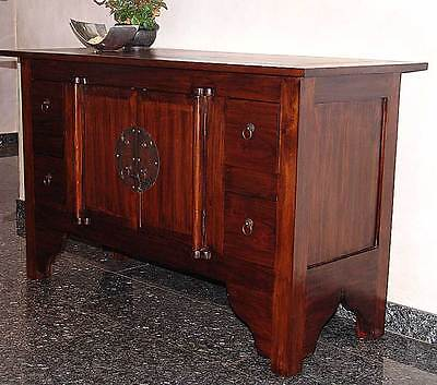 massiv sideboard kommode schrank holz kolonial massivholz kolonialstil tv anrich kommoden. Black Bedroom Furniture Sets. Home Design Ideas