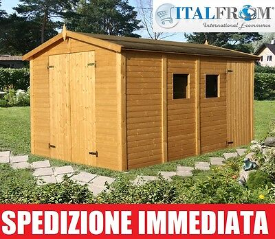 Box casette di legno casetta da giardino in legno d 39 abete - Casette di legno da giardino ikea ...
