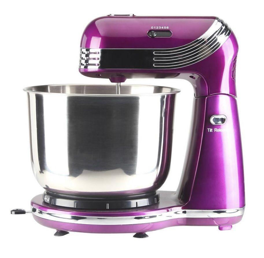 Purple Cake Mixer
