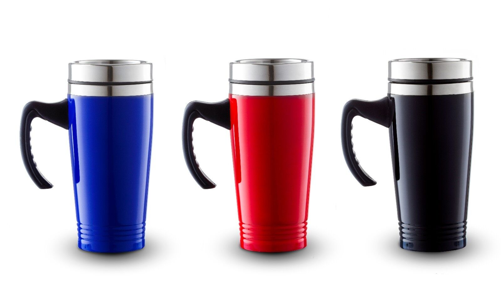 New 16oz stainless steel coffee cup with handle insulated for Mug handle ideas