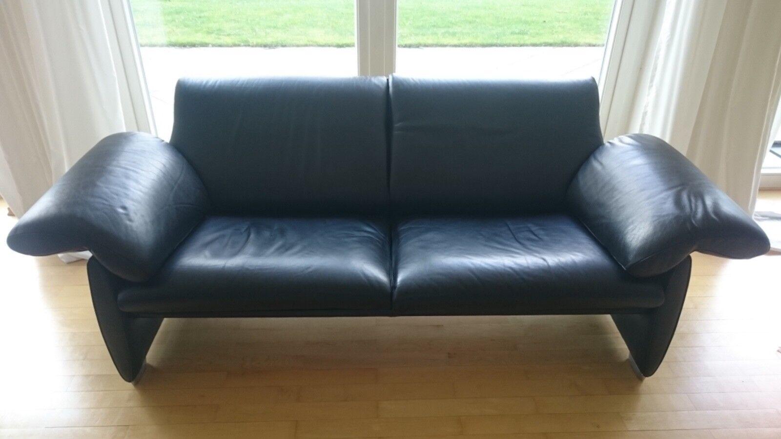 echtleder sofa schwarz designer leder sofa schwarz. Black Bedroom Furniture Sets. Home Design Ideas