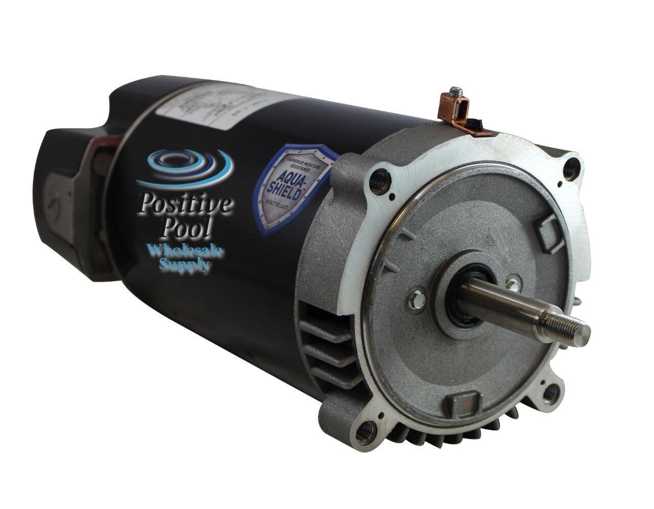 Emerson us motors ast165 1 5 hp pool pump motor hayward for Inground pool pump motor