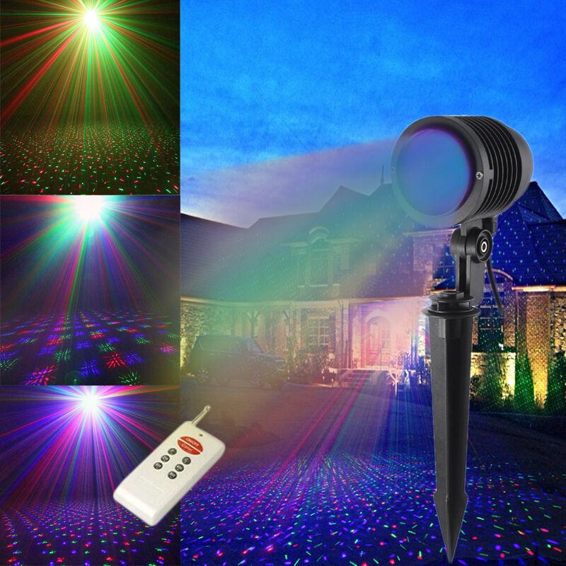 suny led rgb laser projektor licht lawn gardon beleuchtung outdoor xmas lampe rc licht effekte. Black Bedroom Furniture Sets. Home Design Ideas